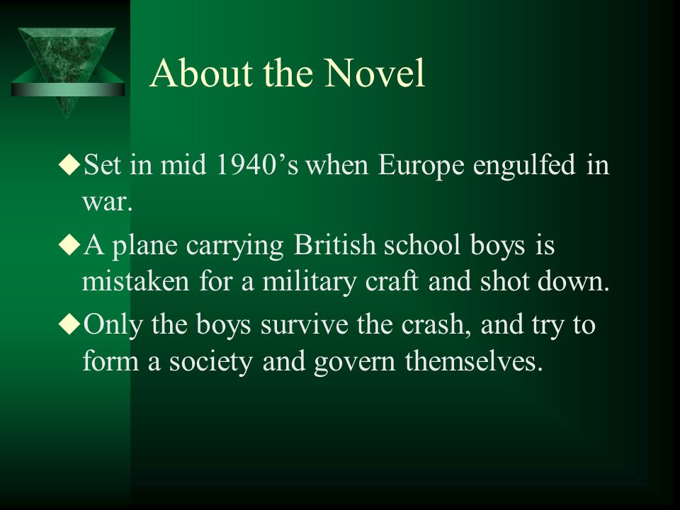 About the Novel Set in mid 1940s when Europe engulfed in war.