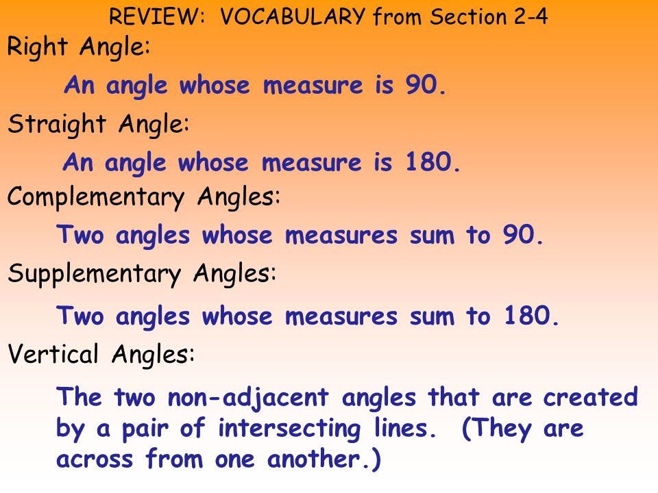 EXAMPLE 1 Given: 1 and 2 are complementary Prove: ABC is a right angle.