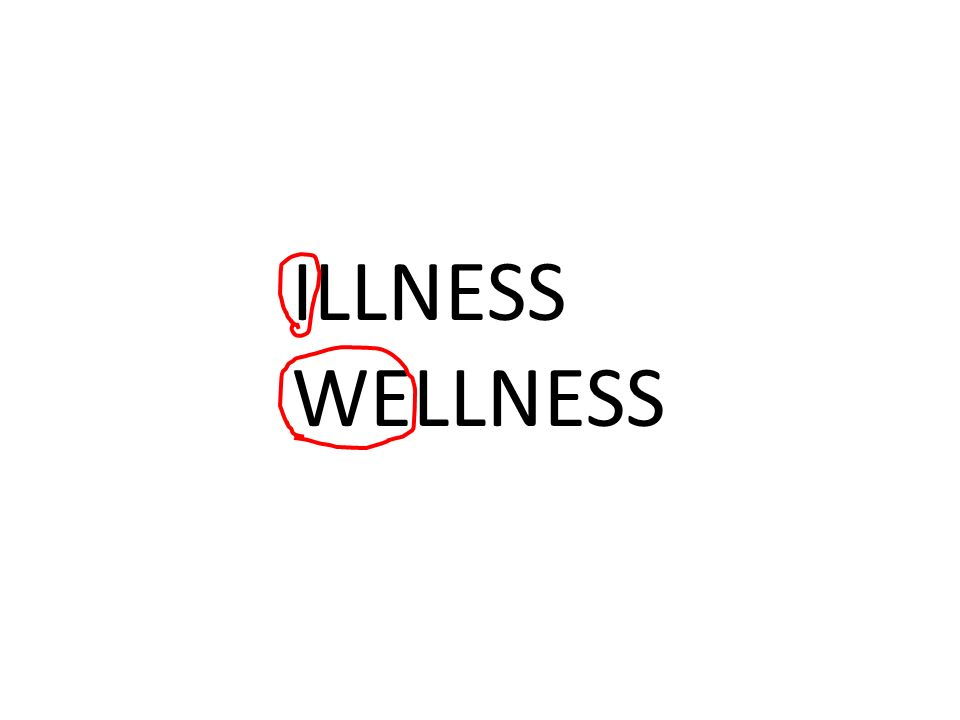 ILLNESS WELLNESS