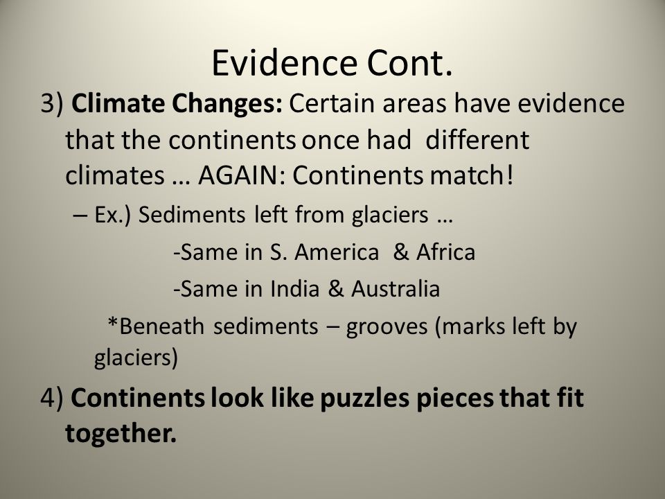 2) AT Convergent Boundaries Continent to Continent = Mountain Ranges: forces cause massive folding and faulting.