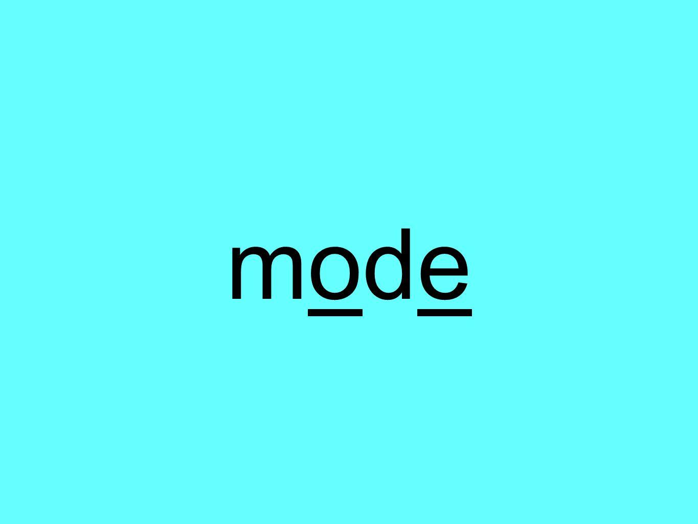 modemode