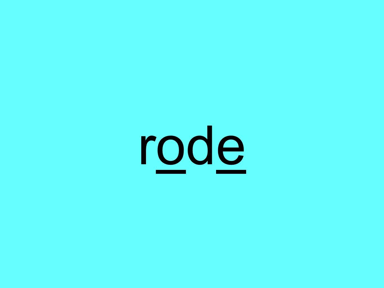 roderode