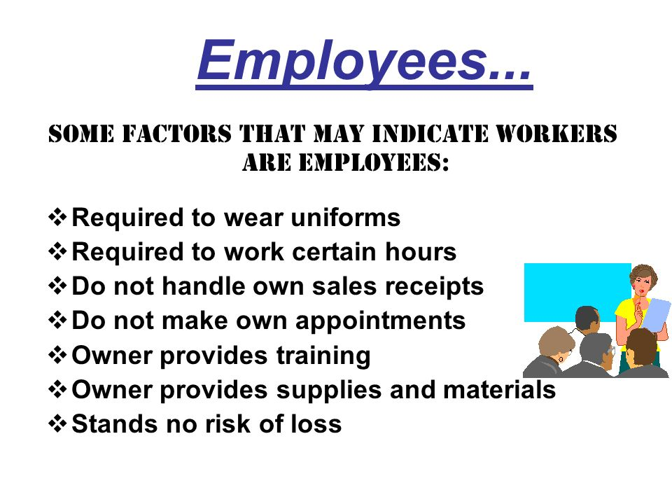 RELATIONSHIP OF THE PARTIES Written contracts Employee benefits Discharge/Termination