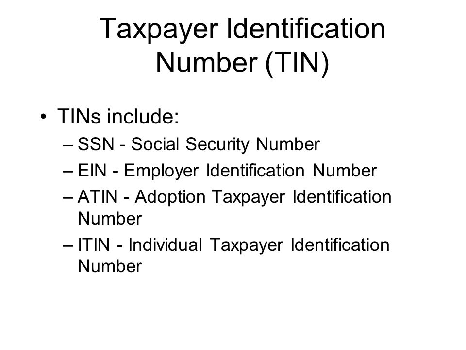 TIN Matching Program Allows authorized designees to submit TIN/Name combination to match against IRS records Matching completed prior to filing inform