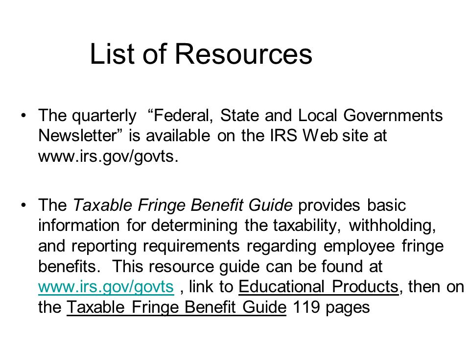 List of Resources Business and Specialty Tax line 1-800-829-4933 EFTPS hotline 1-800-555-4477 Employee Plans Taxpayer Assistance 1-877-829-5500 Form 9
