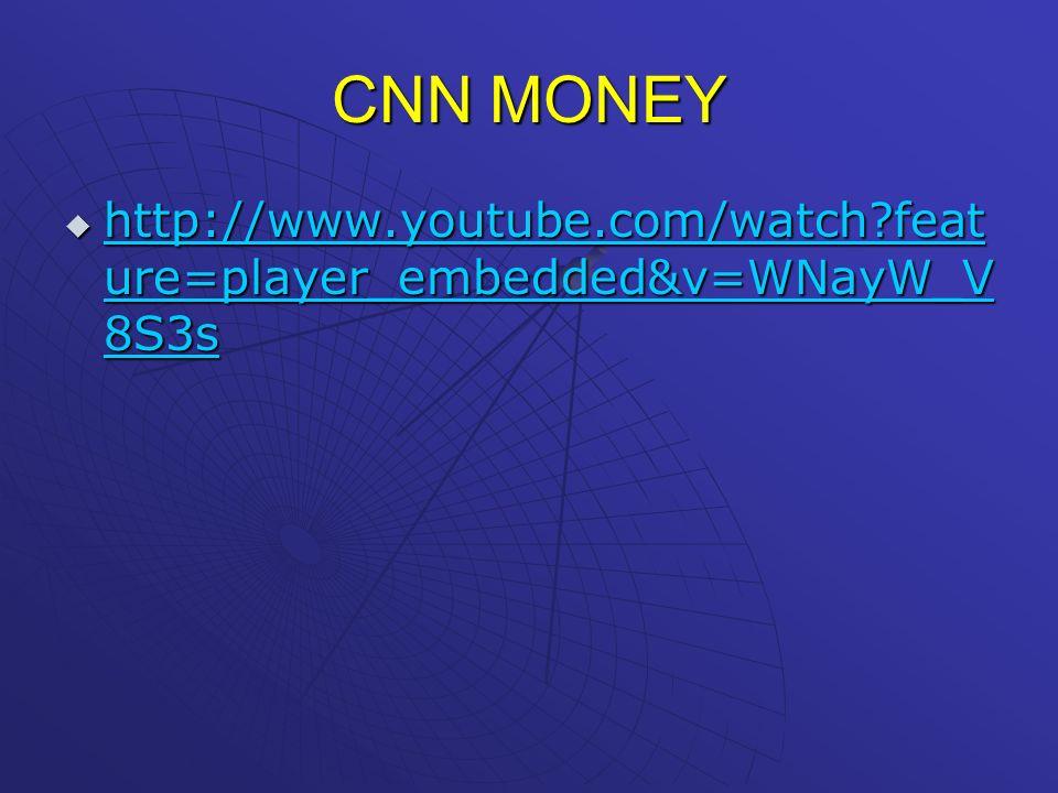 CNN MONEY h h tttt tttt pppp :::: //// //// wwww wwww wwww.... yyyy oooo uuuu tttt uuuu bbbb eeee.... cccc oooo mmmm //// wwww aaaa tttt cccc hhhh ???