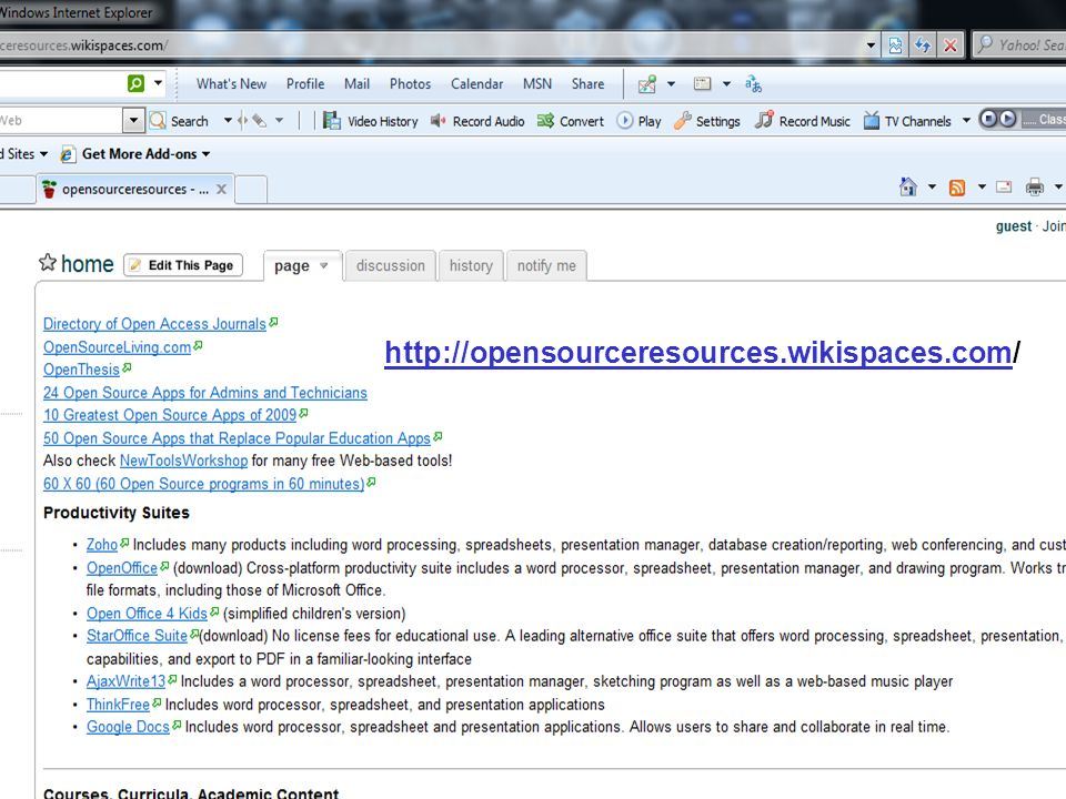 http://opensourceresources.wikispaces.comhttp://opensourceresources.wikispaces.com/