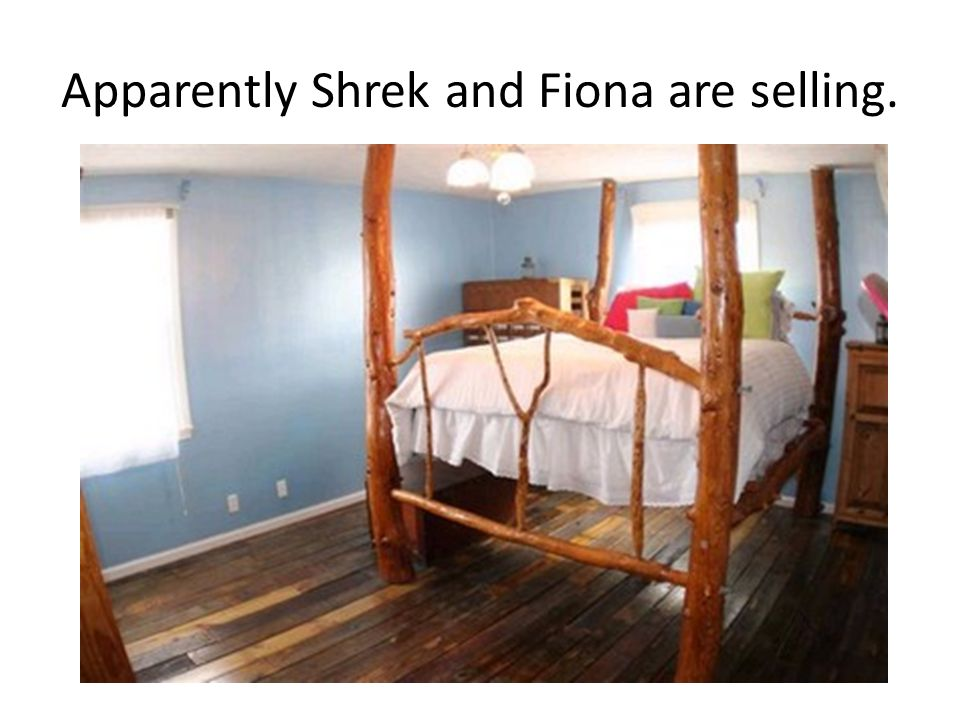 Apparently Shrek and Fiona are selling.
