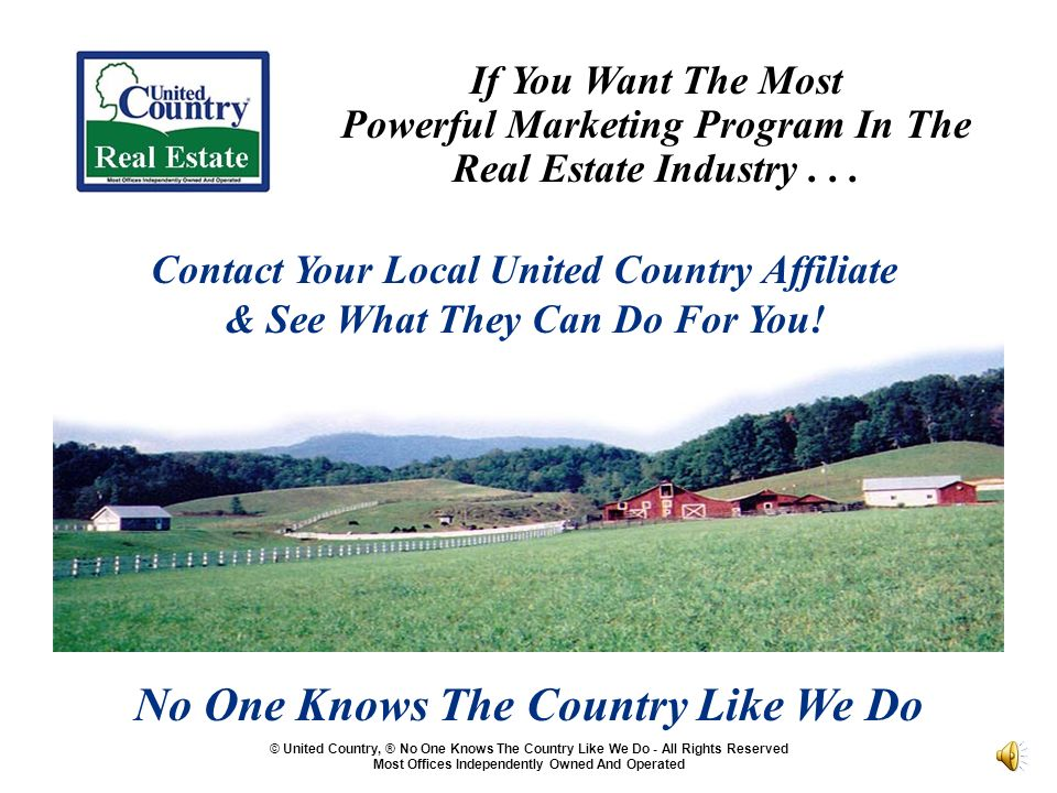 If You Want The Most Powerful Marketing Program In The Real Estate Industry...