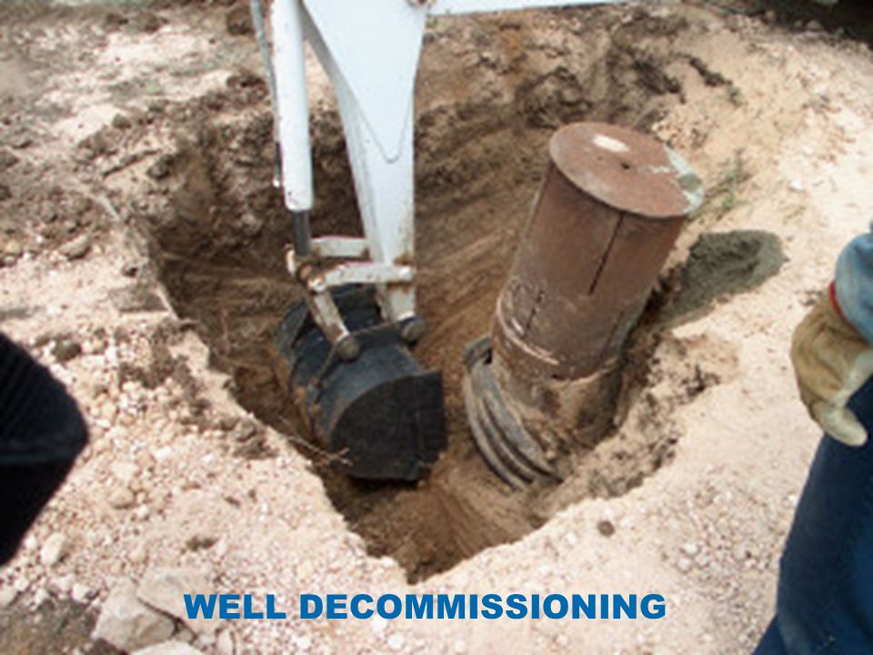WELL DECOMMISSIONING
