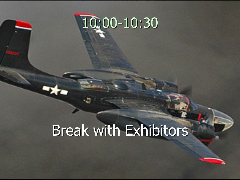 10:00-10:30 Break with Exhibitors