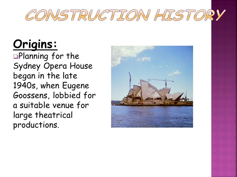 Stage I commenced on 2 March 1959, monitored by the engineers and partners.