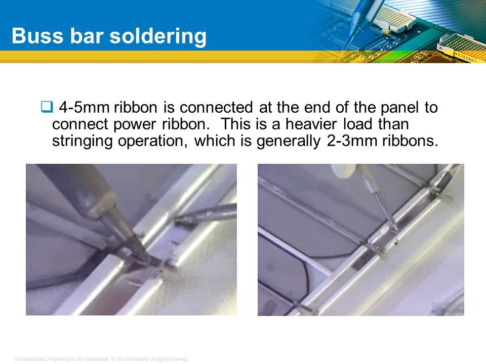Confidential and Proprietary to OK International. © OK International All rights reserved. How Micro-cracks occur During the manual soldering operation