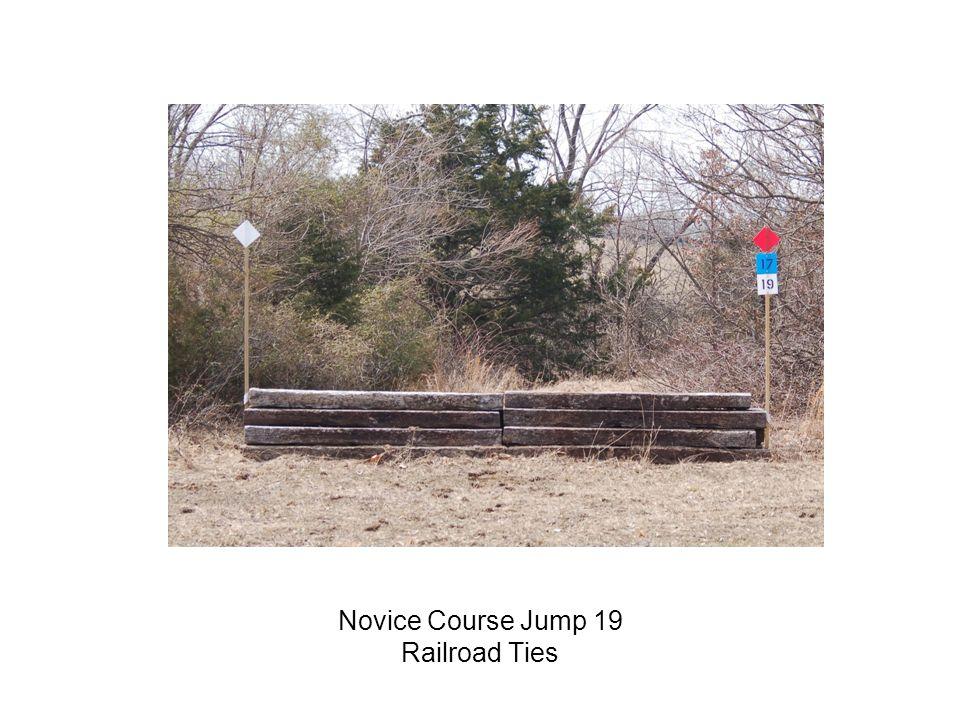 Novice Course Jump 19 Railroad Ties