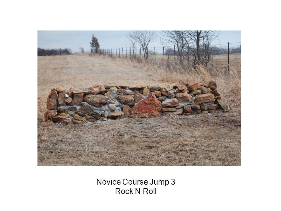 Novice Course Jump 3 Rock N Roll