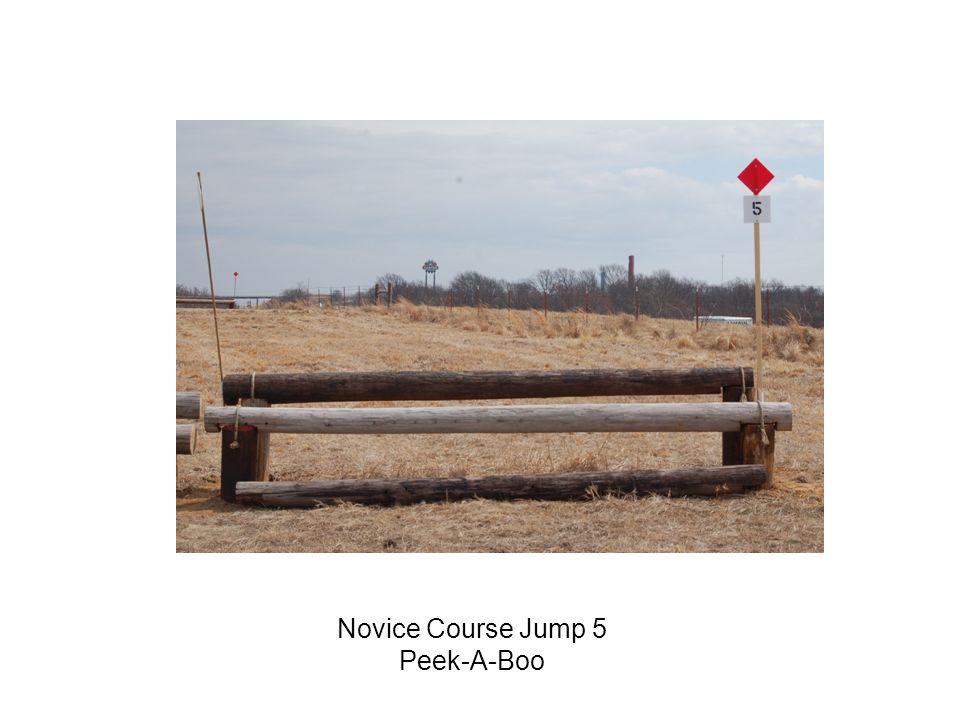 Novice Course Jump 5 Peek-A-Boo