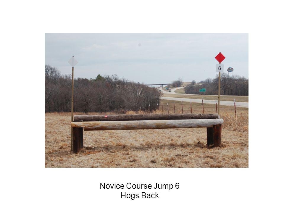 Novice Course Jump 6 Hogs Back