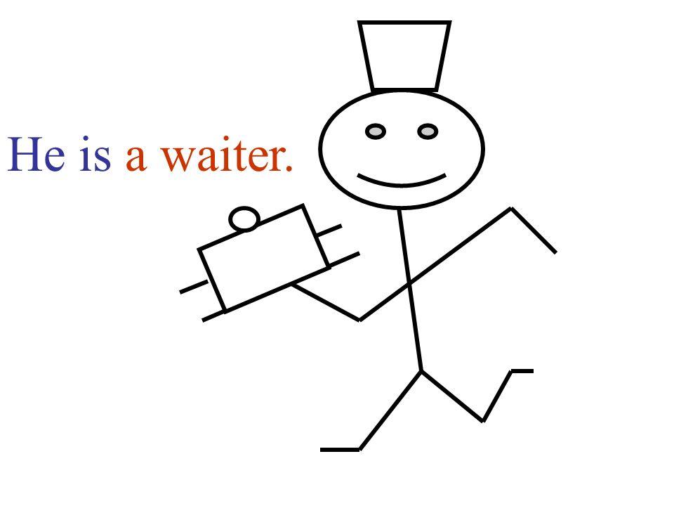 a waiter.