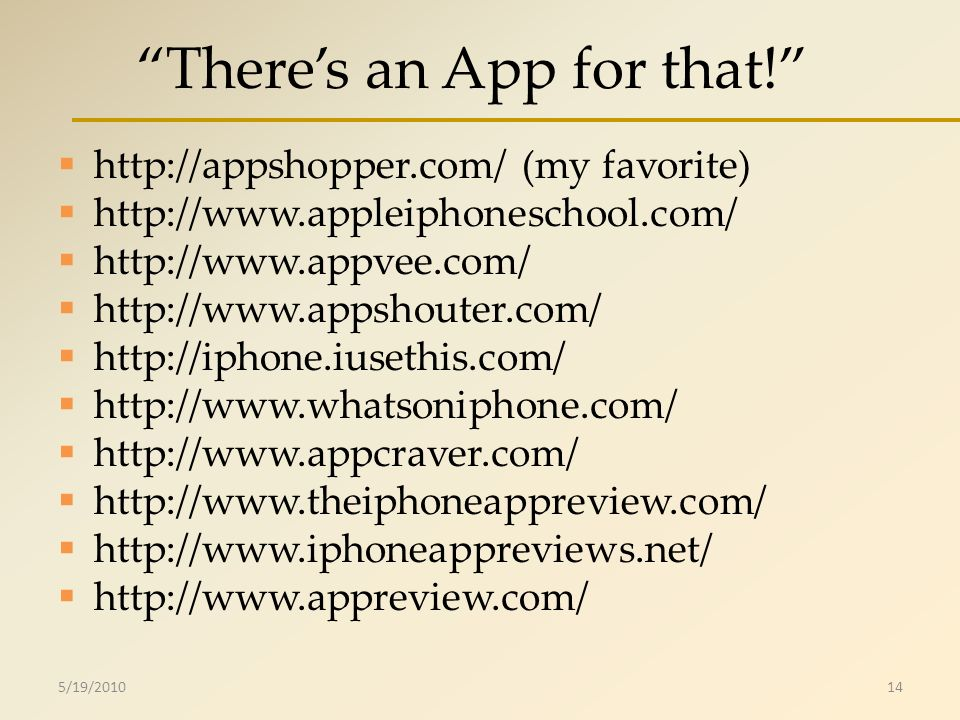 Theres an App for that! http://appshopper.com/ (my favorite) http://www.appleiphoneschool.com/ http://www.appvee.com/ http://www.appshouter.com/ http: