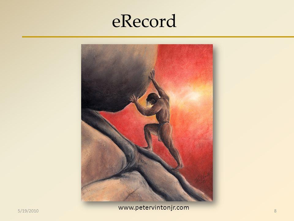 eRecord 5/19/20108 www.petervintonjr.com