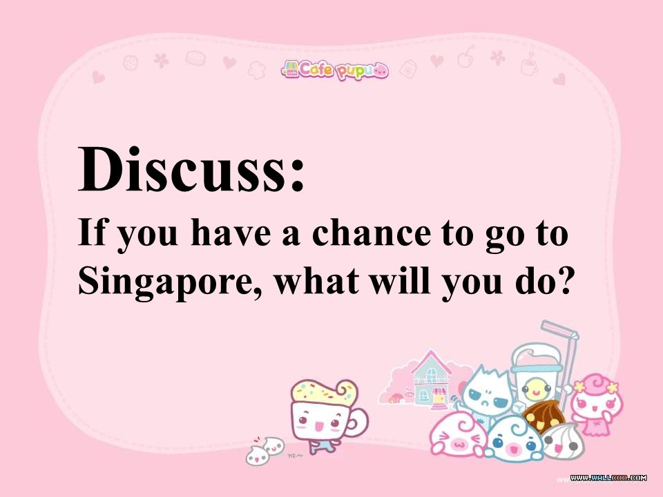 1.Singapore is a big country in Europe.