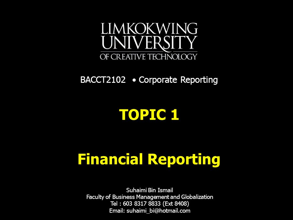 BACCT2102Corporate Reporting21 Current convergence and improvement projects In 2001 the IASB announced a project to improve twelve IASB standards.