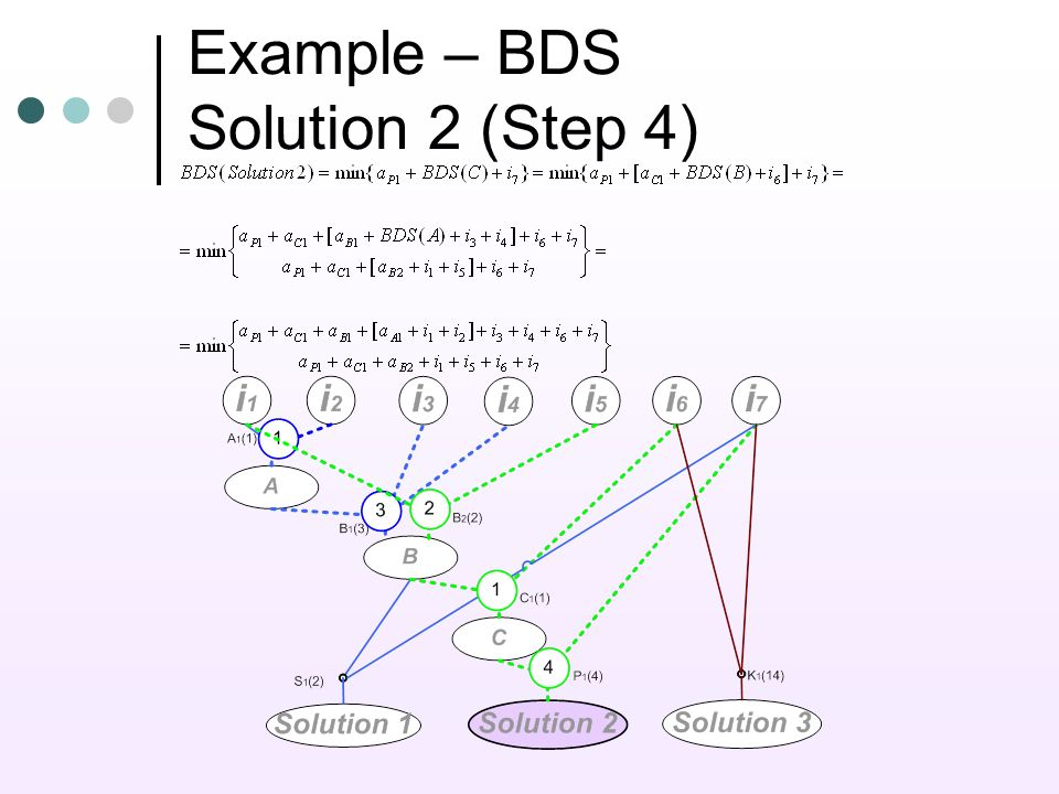 Example – BDS Solution 2 (Step 4)