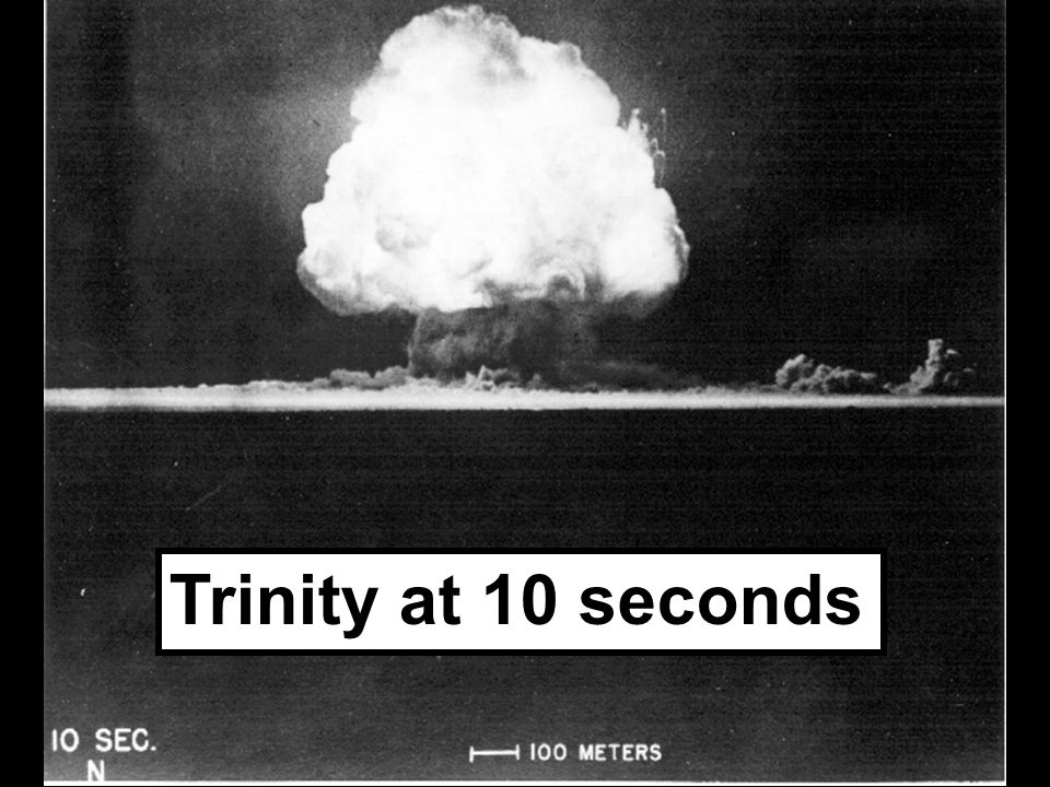 Trinity at 10 seconds
