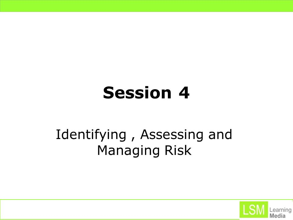 Learning Outcomes 4.1 Critically evaluate the importance of developing an understanding of risk assessments in organisations in order to protect long term stability of a range of marketing projects.