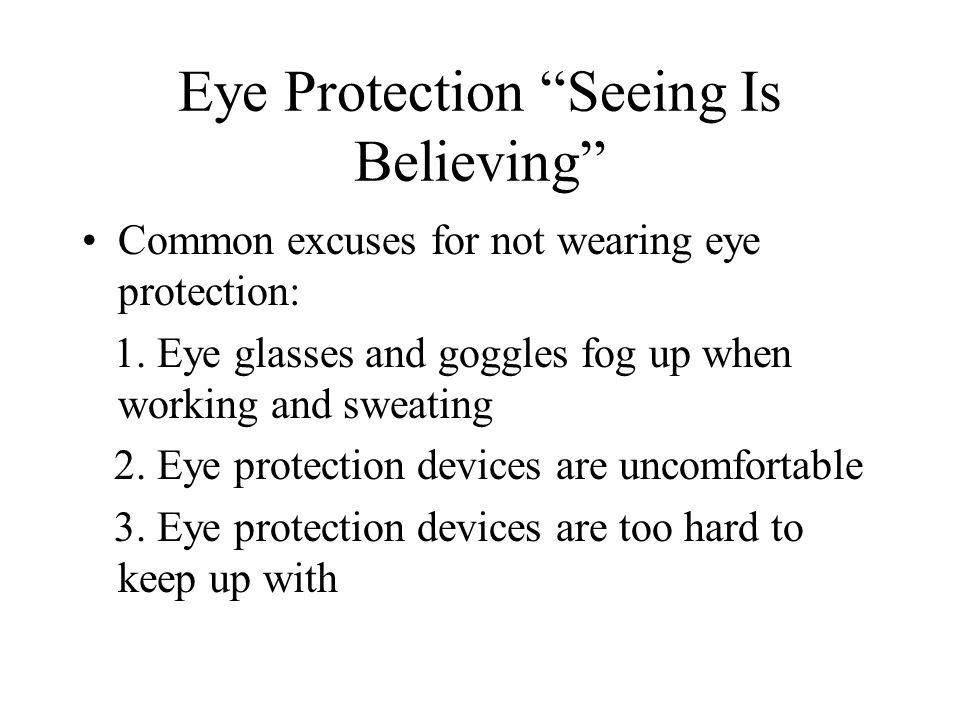 Causes of Eye Injuries 1.