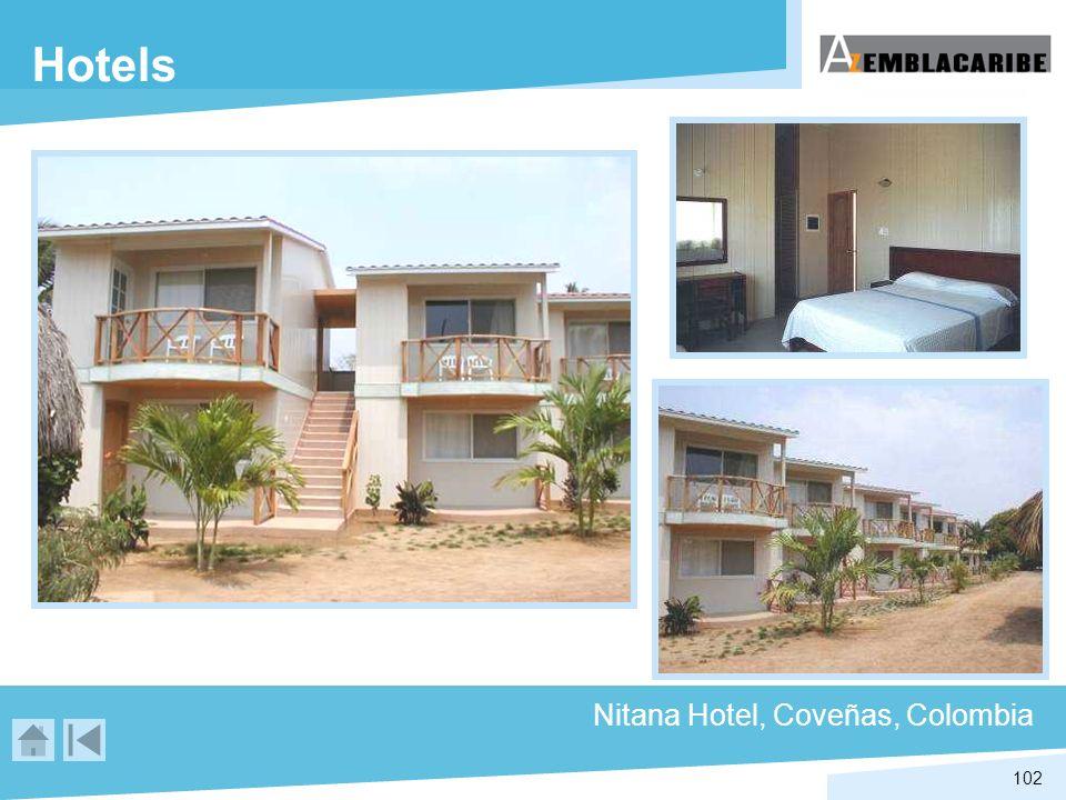 102 Hotels Nitana Hotel, Coveñas, Colombia
