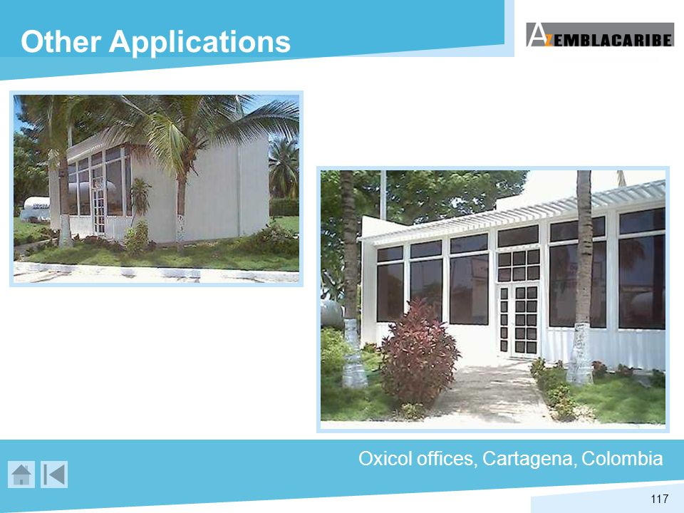 117 Oxicol offices, Cartagena, Colombia Other Applications