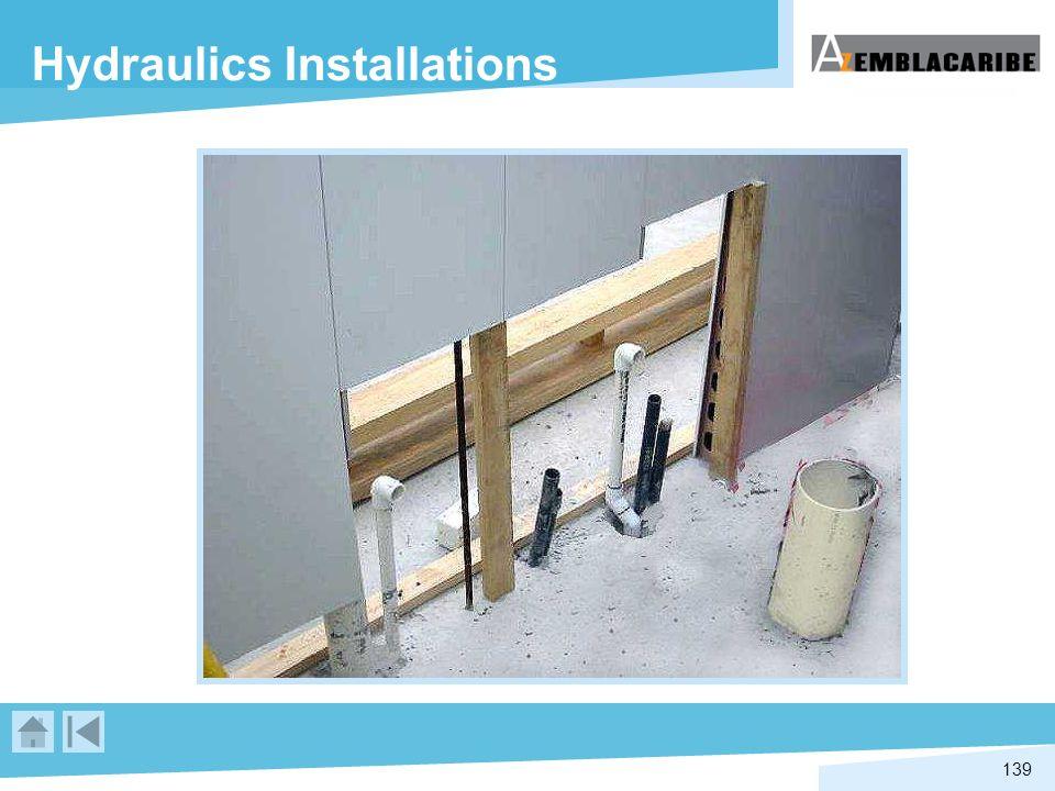 139 Hydraulics Installations