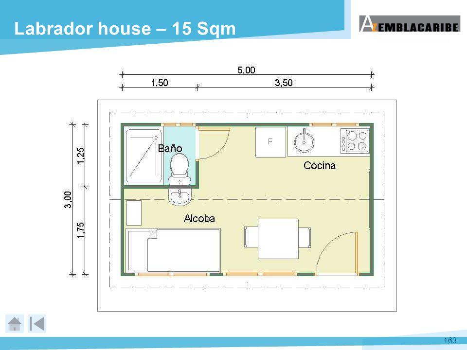 163 Labrador house – 15 Sqm