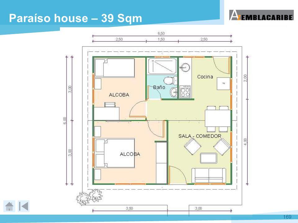 169 Paraíso house – 39 Sqm