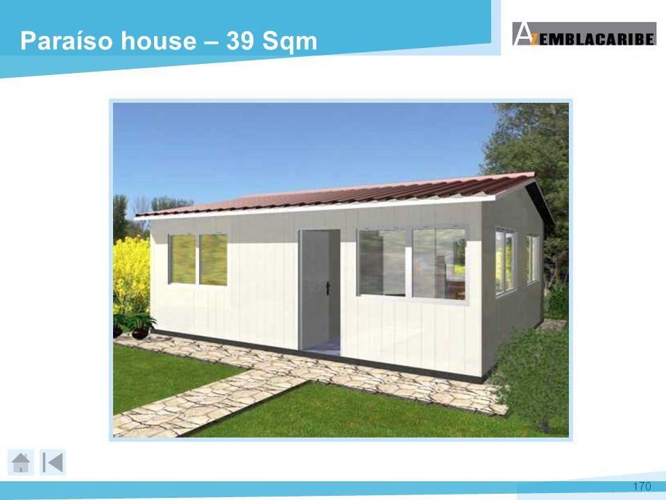 170 Paraíso house – 39 Sqm