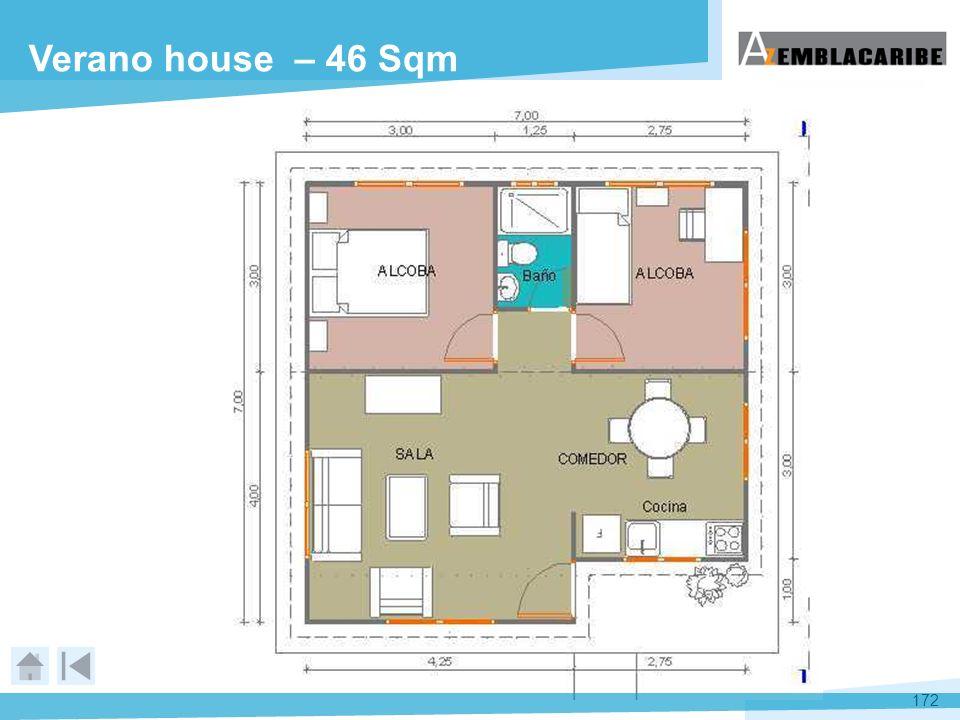 172 Verano house – 46 Sqm