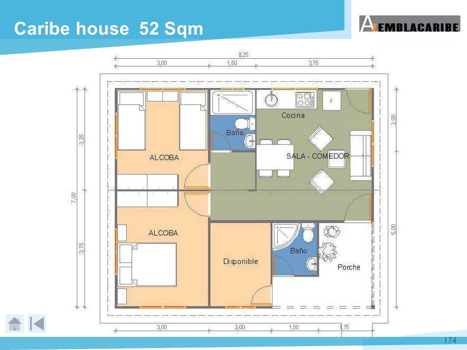 174 Caribe house 52 Sqm