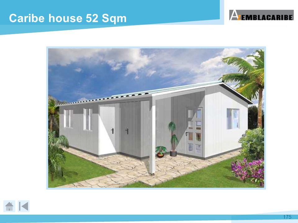 175 Caribe house 52 Sqm