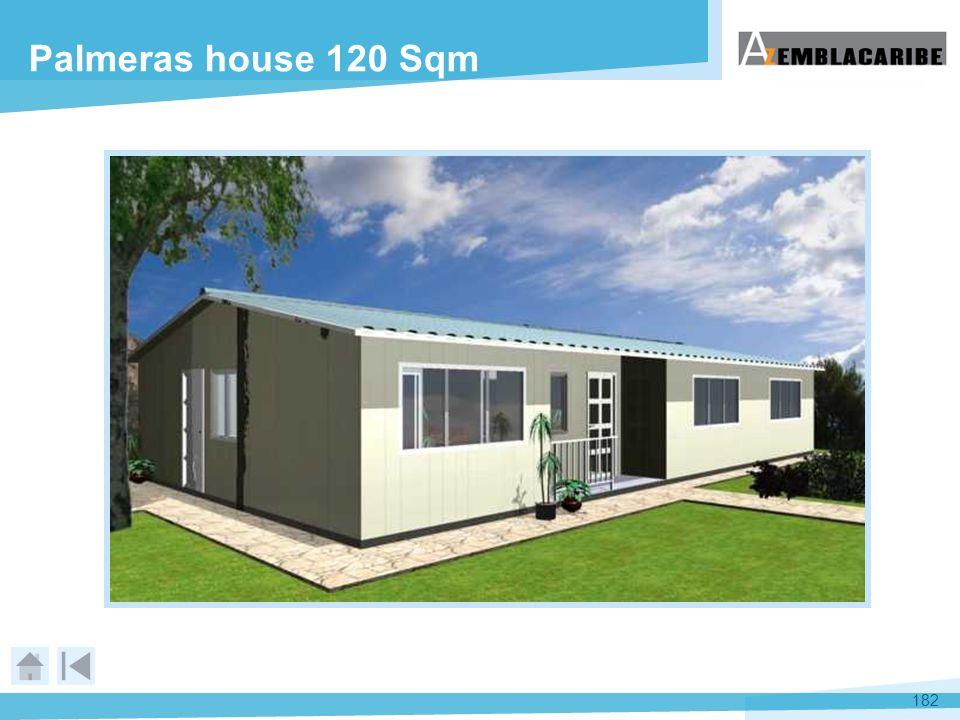 182 Palmeras house 120 Sqm
