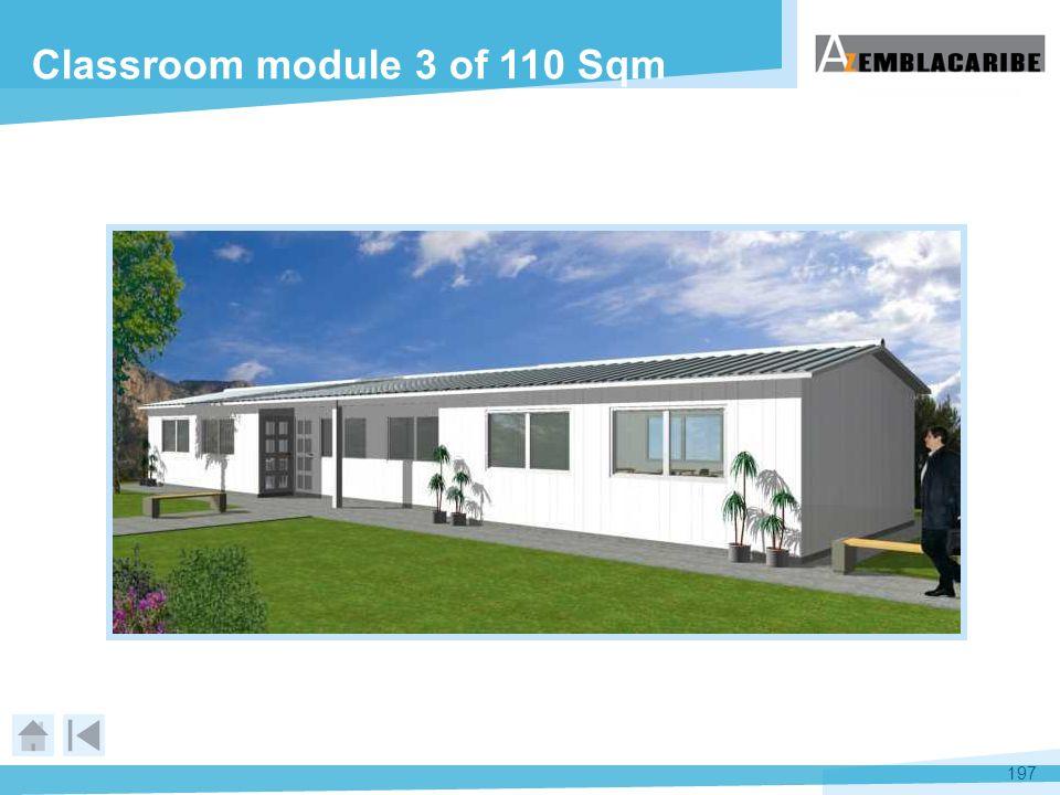 197 Classroom module 3 of 110 Sqm