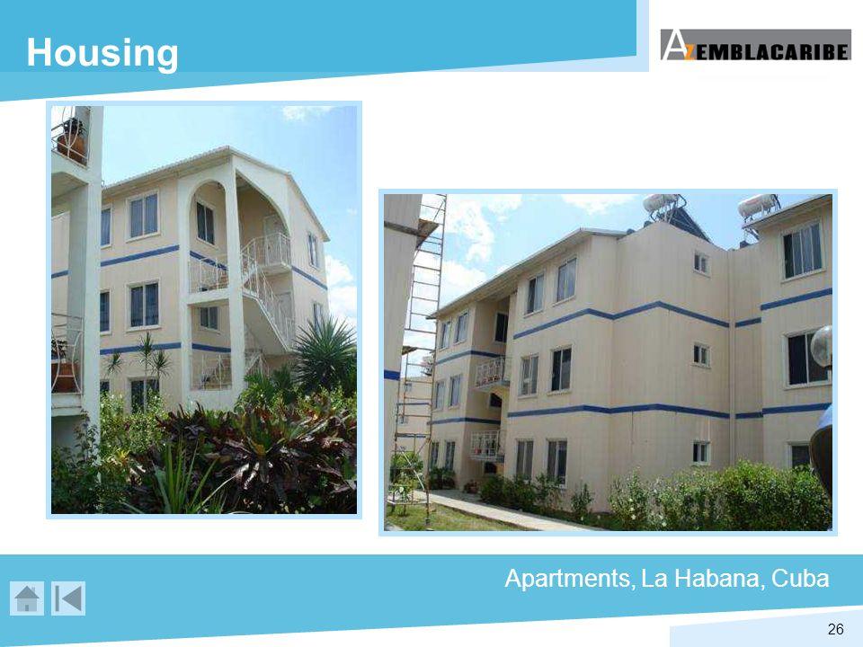 26 Housing Apartments, La Habana, Cuba