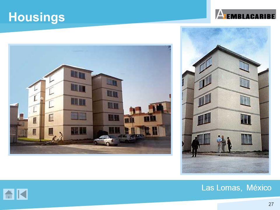 27 Housings Las Lomas, México