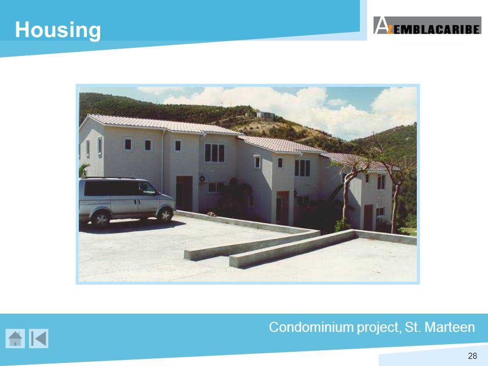 28 Housing Condominium project, St. Marteen