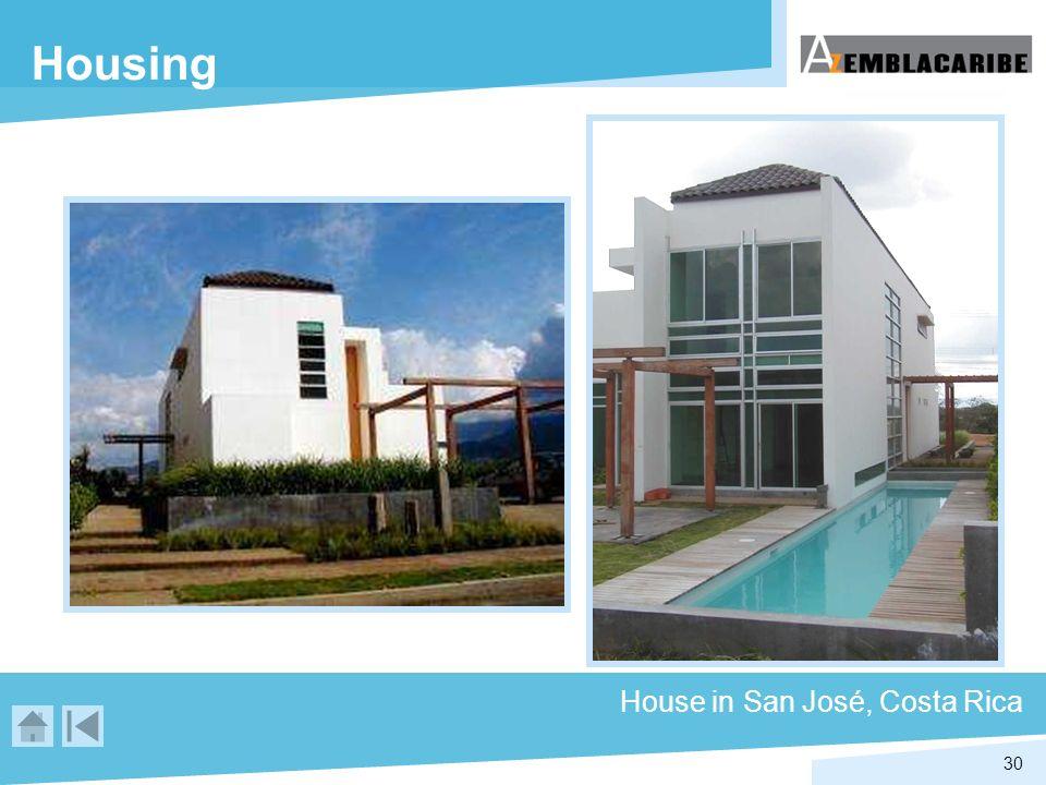 30 Housing House in San José, Costa Rica