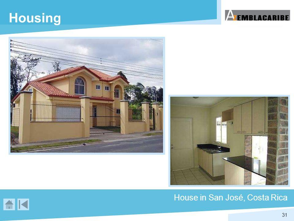 31 Housing House in San José, Costa Rica