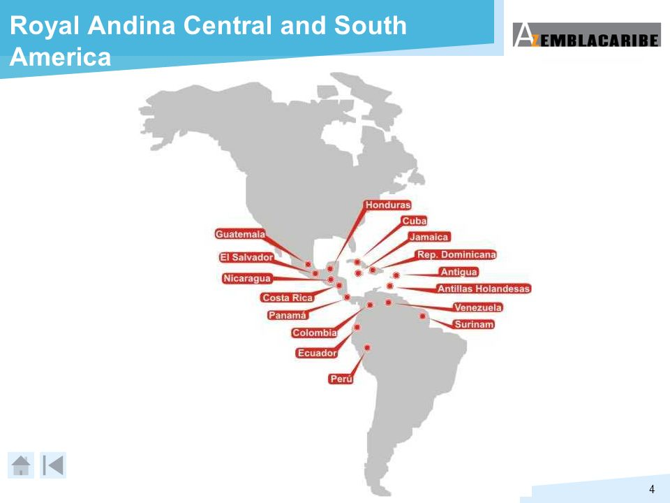 4 Royal Andina Central and South America
