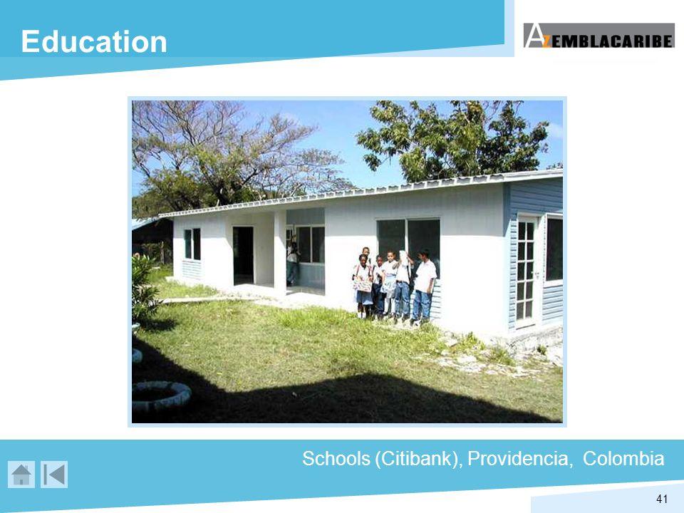 41 Education Schools (Citibank), Providencia, Colombia