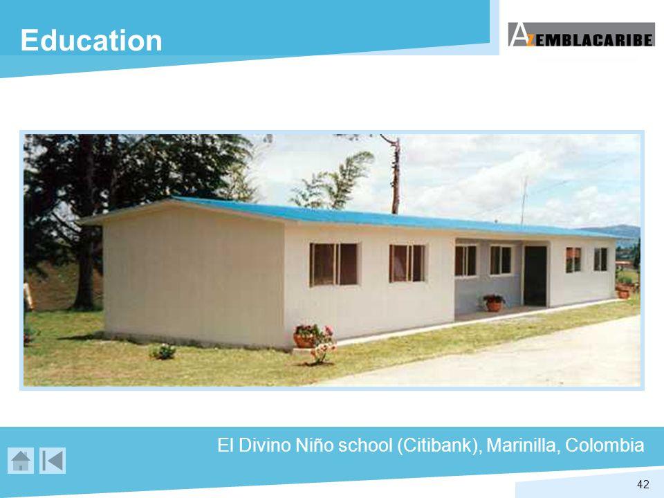 42 Education El Divino Niño school (Citibank), Marinilla, Colombia