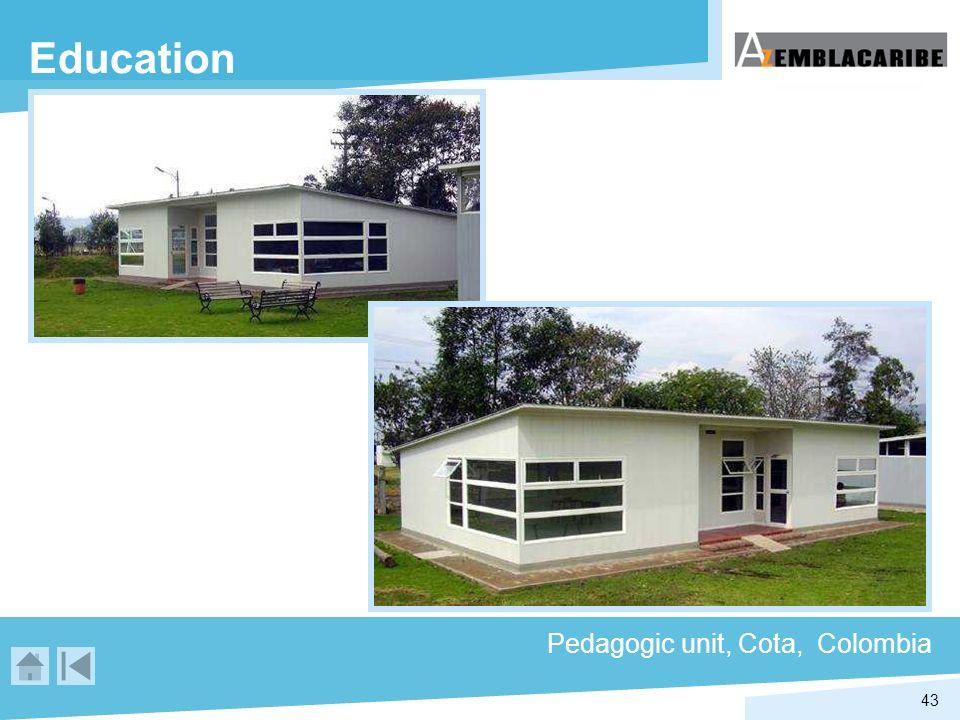 43 Education Pedagogic unit, Cota, Colombia